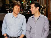 Paul McCartney en el Saturday Night Live