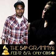 Nominaciones a la 54 edicion de los Grammy