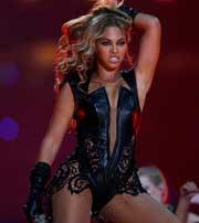 Mini-concierto de Beyoncé