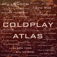 "Estrenado ""Atlas"" de Coldplay"
