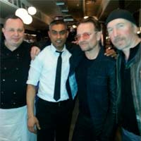 U2 trabaja con Paul Epworth en Londres