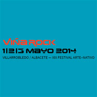 Cartel por d�as del Vi�a Rock 2014