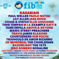 Travis y Razorlight al FIB 2014