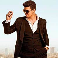 Robin Thicke y 5 seconds of summer, nuevos discos a la venta