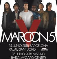 The Maroon 5 world tour en Barcelona y Madrid