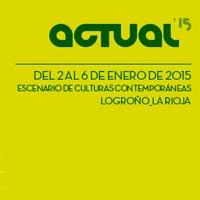 Cartel del Festival Actual 2015