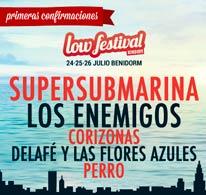 Primeras confirmaciones para el Low Festival 2015
