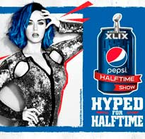 Katy Perry protagonista del descanso de la SuperBowl 2015