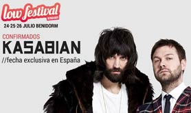 Kasabian al Low Festival 2015