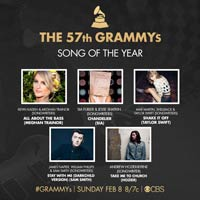 Nominaciones a la 57ª edición de los premios Grammy