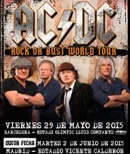 Segunda fecha para AC/DC en Madrid