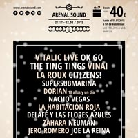 The Ting Tings y Dorian al Arenal Sound 2015