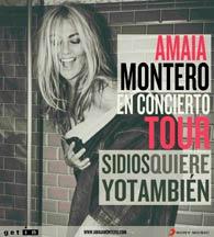 Primeras fechas de la gira 2015 de Amaia Montero
