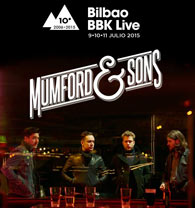 Mumford & Sons y Of Monsters and Men al Bilbao BBK Live 2015