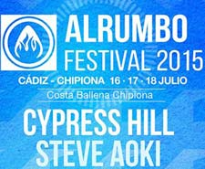 Cypress Hill y Steve Aoki al Alrumbo Festival 2015