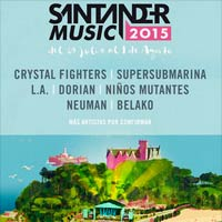 4 nombres m�s para el Santander Music 2015