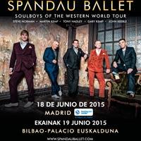 3 conciertos de Spandau Ballet en Espa�a