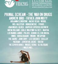 Cartel provisional del VIDA Festival 2015