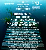 Nero, Monarchy y The zombie kids al Arenal Sound 2015