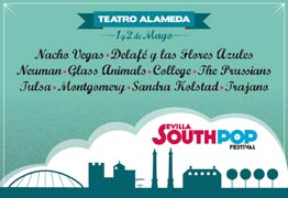 Cartel del South Pop Sevilla 2015