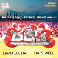 Hardwell y David Guetta al BBF 2015
