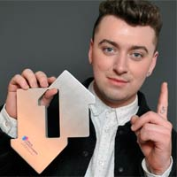 Doble n�mero 1 para Sam Smith en la listas brit�nicas