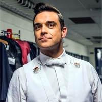 Robbie Williams al Hard Rock Rising