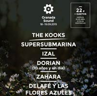The Kooks al Granada Sound 2015