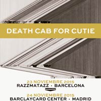 Conciertos de Death Cab for Cutie en Madrid y Barcelona