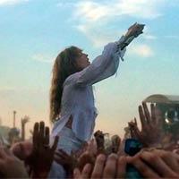 Florence & the machine cabeza de cartel en Glastonbury