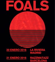 Foals en Madrid y Barcelona en enero de 2016