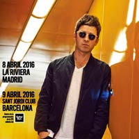 Conciertos de Noel Gallagher en Madrid y Barcelona