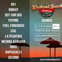Crece el Weekend Beach Festival 2016