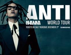 La nueva gira de Rihanna