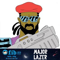 Major Lazer al FIB 2016