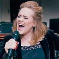 Adele se sale de la tabla con '25'