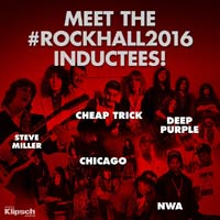 Deep Purple y Chicago al Rock and Roll Hall of Fame