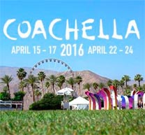 Cartel y streaming del Festival de Coachella 2016