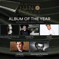 Nominaciones a los Juno Awards 2016
