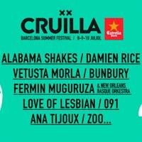 Alabama Shakes y Vetusta Morla al Cru�lla Barcelona 2016