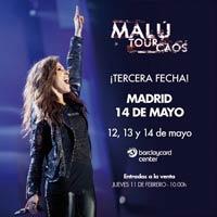 Mal� anuncia un tercer concierto en Madrid