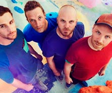 Coldplay n�1 en discos en UK con 'A head full of dreams'