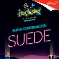 Suede al Low Festival 2016