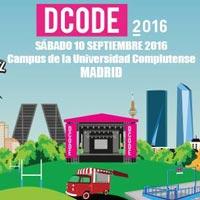 Grueso del cartel del Dcode 2016
