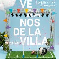 Cartel de Los Veranos de la Villa 2016