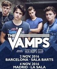 Nuevos conciertos de The Vamps en Espa�a