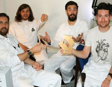 "Bastille n�1 en discos en Reino Unido con ""Wild world"""