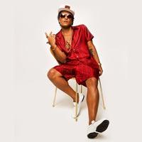 Bruno Mars sigue en modo funk