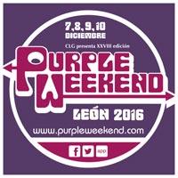 Cartel del Purple Weekend 2016