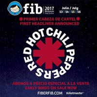 Red Hot Chili Peppers al FIB 2017